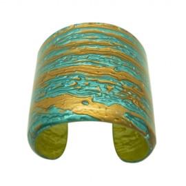 FaKaRa Ledja Turquoise Cuff Bracelet