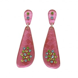 FaKaRa Swing Pink Earrings