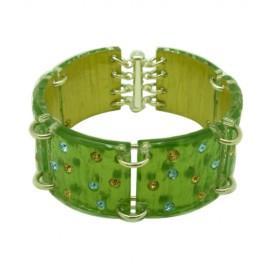 FaKaRa Ecorce Green Bracelet