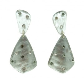 FaKaRa Ecorce Silver Earrings