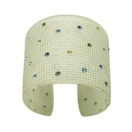 FaKaRa Trame Silver Cuff Bracelet