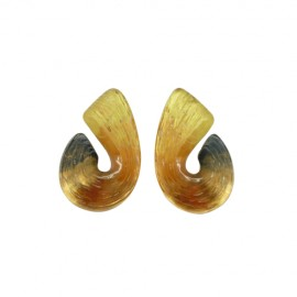 FKR Sillage Gold Oriental Shell Earrings