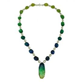 FKR Roche Blue Bora Long Necklace