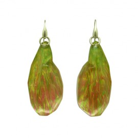 FKR Roche Green Pink Miami Earrings