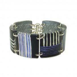 FKR Rodez Blue Carré d'Art Bracelet