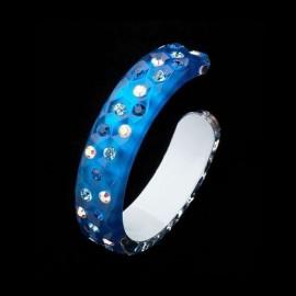 Nevada Blue Hawaii Bangle Bracelet