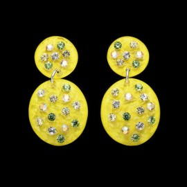 Nevada Yellow Hawaii Carapace Earrings