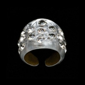 Nevada Silver Colored Wide Ring