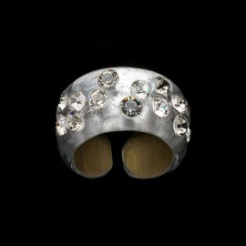 Nevada Silver Colored Narrow Ring