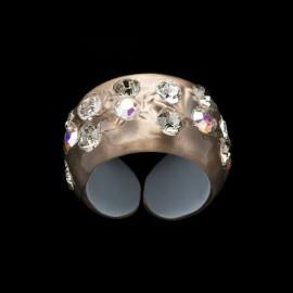 Nevada Honey Colored Narrow Ring