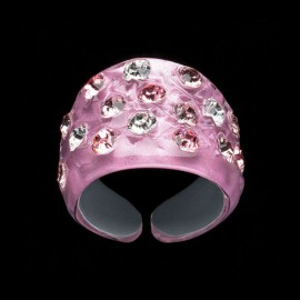 Nevada Cosmos Pink Wide Ring