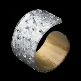 Nevada Silver Colored Cuff Bracelet