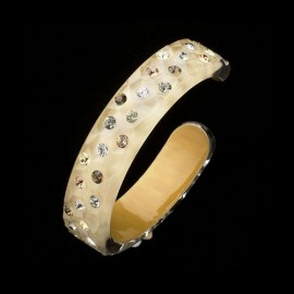 Nevada Corn Yellow Bangle Bracelet