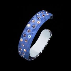 Nevada Lilac Blue Bangle Bracelet