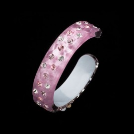 Nevada Cosmos Pink Bangle Bracelet