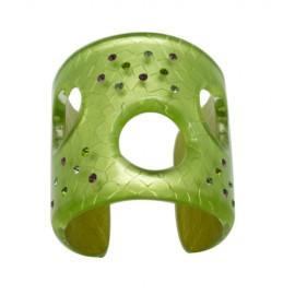 FaKaRa Swing Green Large Cuff Bracelet