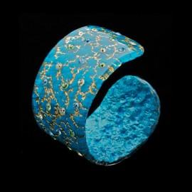 Monarch Turquoise Blue Cuff Bracelet