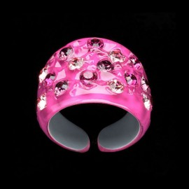 Nevada Fuchsia Wide Ring