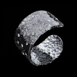 Monarch Black Cuff Bracelet